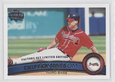 2011 Topps Factory Set Limited Edition #169 - Chipper Jones
