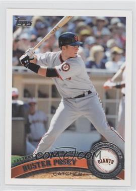 2011 Topps Factory Set Limited Edition #198 - Buster Posey