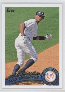 2011 Topps Factory Set Limited Edition #50 - Alex Rodriguez