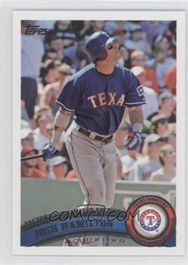 2011 Topps Factory Set Limited Edition #650 - Josh Hamilton