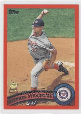 2011 Topps Factory Set Red #183 - Stephen Strasburg /245