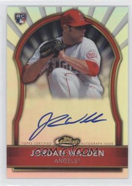 2011 Topps Finest - [Base] - Refractor Rookie Autographs [Autographed] #88 - Jordan Walden /499