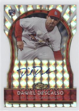 2011 Topps Finest Die-Cut Mosaic Refractor Rookie Autographs [Autographed] #100 - Daniel Descalso /10