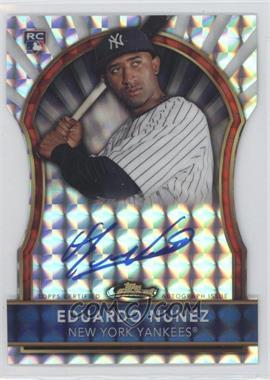 2011 Topps Finest Die-Cut Mosaic Refractor Rookie Autographs [Autographed] #105 - Eduardo Nunez /10