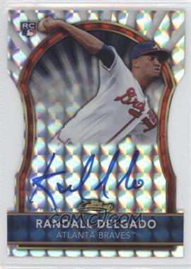 2011 Topps Finest Die-Cut Mosaic Refractor Rookie Autographs [Autographed] #62 - Randall Delgado /10