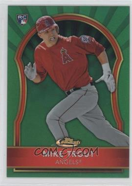 2011 Topps Finest Green Refractor #94 - Mike Trout /199