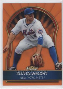 2011 Topps Finest Orange Refractor #35 - David Wright /99