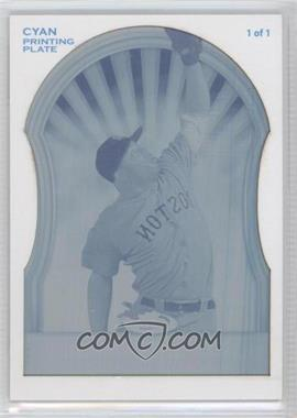 2011 Topps Finest Printing Plate Cyan #56 - Carl Crawford /1