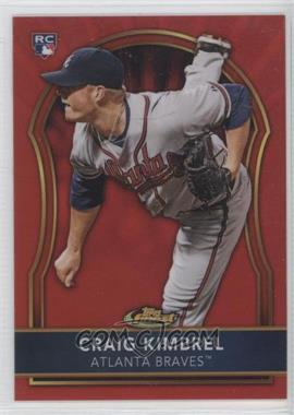 2011 Topps Finest Red Refractor #85 - Craig Kimbrel /25