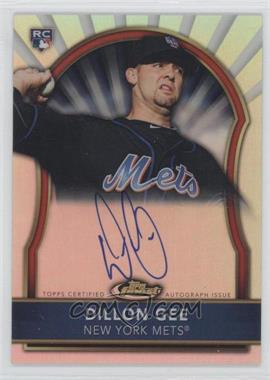2011 Topps Finest Refractor Rookie Autographs [Autographed] #79 - Dillon Gee /499