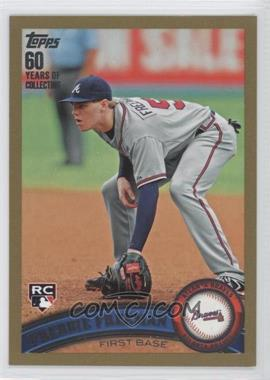 2011 Topps Gold 60 Years of Collecting #145 - Freddie Freeman /2011