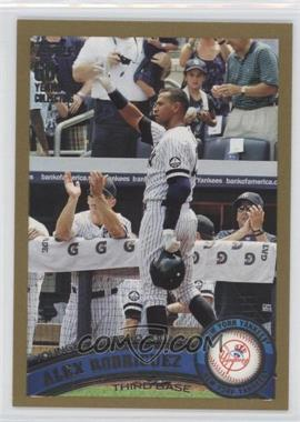 2011 Topps Gold 60 Years of Collecting #155 - Alex Rodriguez /2011