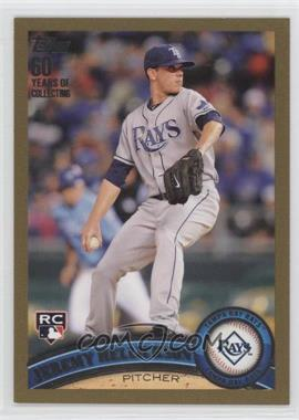 2011 Topps Gold 60 Years of Collecting #165 - Jeremy Hellickson /2011