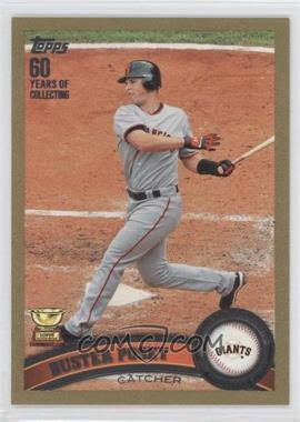 2011 Topps Gold 60 Years of Collecting #198 - Buster Posey /2011