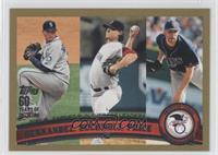Felix Hernandez, Clay Buchholz, David Price /2011
