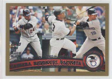 2011 Topps Gold 60 Years of Collecting #306 - Alex Rodriguez /2011