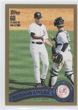 2011 Topps Gold 60 Years of Collecting #42 - Mariano Rivera /2011