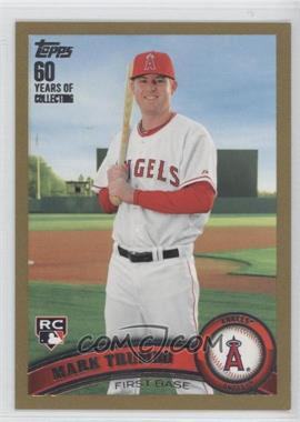 2011 Topps Gold 60 Years of Collecting #57 - Mark Trumbo /2011