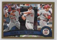 Albert Pujols, Adam Dunn, Joey Votto /2011