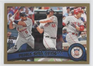 2011 Topps Gold #318 - [Missing] /2011