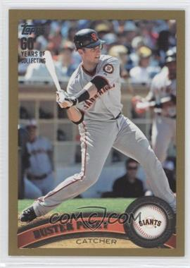 2011 Topps Gold #335 - Buster Posey /2011