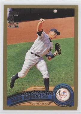 2011 Topps Gold #50 - Alex Rodriguez /2011