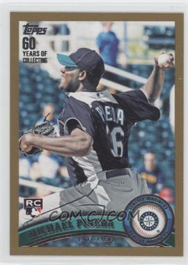 2011 Topps Gold #595 - Michael Pineda /2011