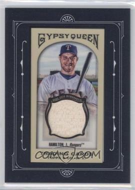 2011 Topps Gypsy Queen - Framed Mini Relics #FMRC-JH - Josh Hamilton