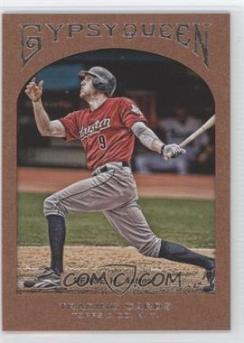 2011 Topps Gypsy Queen Framed Paper #77 - Hunter Pence /999