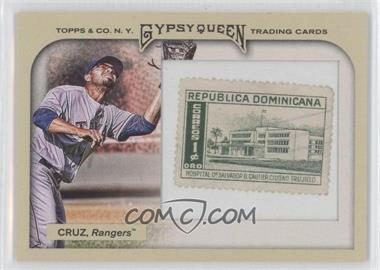 2011 Topps Gypsy Queen Framed Stamp #81 - Nelson Cruz /10