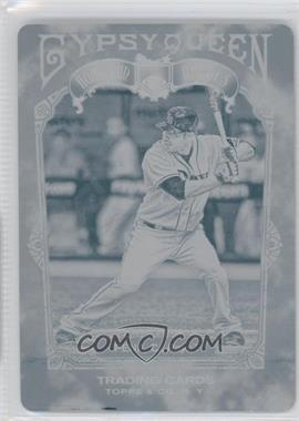 2011 Topps Gypsy Queen Home Run Heroes Printing Plate Cyan #HH5 - Carlos Pena /1