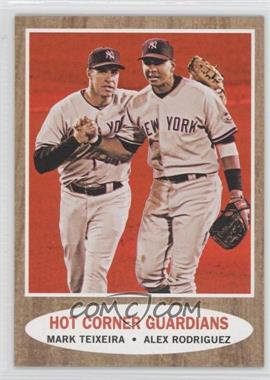 2011 Topps Heritage - [Base] - Target Red Tint #163 - Mark Teixeira, Alex Rodriguez
