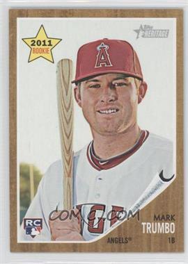 2011 Topps Heritage - [Base] #404 - Mark Trumbo