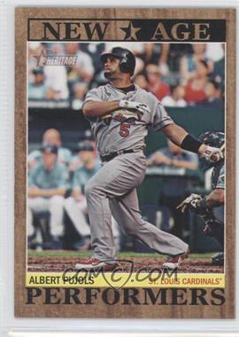 2011 Topps Heritage - New Age Performers #NAP-15 - Albert Pujols