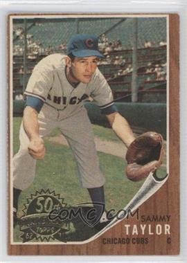 2011 Topps Heritage 1962 Topps 50th Anniversary Buybacks #274 - Sammy Taylor