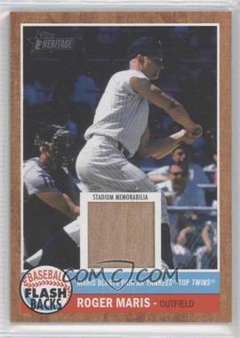2011 Topps Heritage Baseball Flashbacks Stadium Relics #FSR-BG - Roger Maris