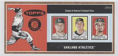 2011 Topps Heritage Box Loader Stamp Album #N/A - Oakland Athletics Team