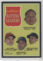 Joey Votto, Omar Infante, Troy Tulowitzki /62