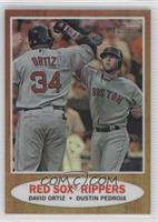 David Ortiz, Dustin Pedroia /562