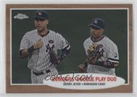Bombers' Double Play Duo (Derek Jeter, Robinson Cano) /1962