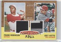 Frank Robinson, Joey Votto /62