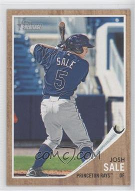 2011 Topps Heritage Minor League Edition - [Base] - Topps Vault Unencased #N/A - Josh Sale /1