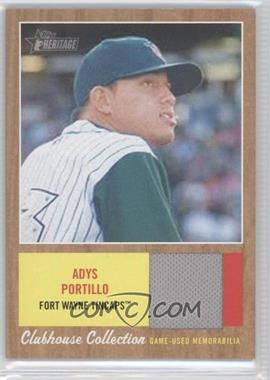 2011 Topps Heritage Minor League Edition - Clubhouse Collection Relics #CCR-AP - Adys Portillo