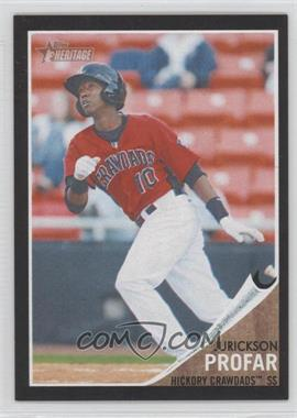 2011 Topps Heritage Minor League Edition Black Border #189 - Jurickson Profar /62