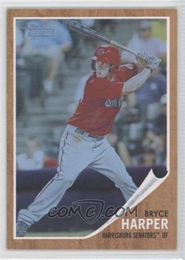 2011 Topps Heritage Minor League Edition Blue Tint #16 - Bryce Harper /620
