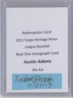 Austin Adams [REDEMPTION Being Redeemed]