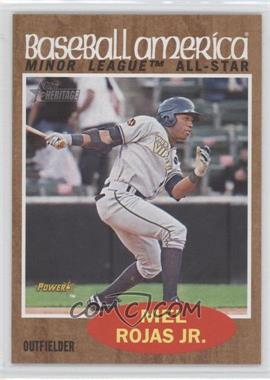 2011 Topps Heritage Minor League Edition #245 - Mel Rojas