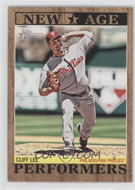 2011 Topps Heritage New Age Performers #NAP-1 - Cliff Lee