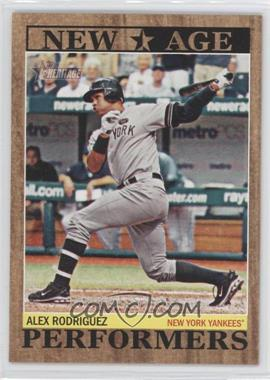 2011 Topps Heritage New Age Performers #NAP-10 - Alex Rodriguez