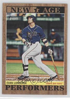 2011 Topps Heritage New Age Performers #NAP-11 - Evan Longoria